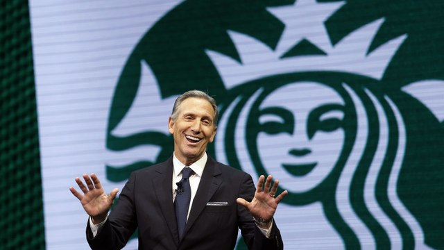 Could Starbucks's Howard Schultz Beat Donald Trump?