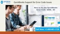 Toll Free +1 800 681 1729 QuickBooks Support for Error Code