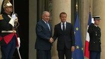 Israels Ministerpräsident Benjamin Netanjahu zu Gast in Paris