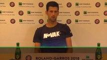 Roland-Garros - Un Novak Djokovic très tendu en conférence de presse