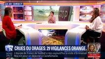 Crues ou orages: 29 départements en vigilance orange (2/2)