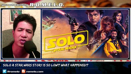 SOLO A Star Wars Story Is SO LOW? What Happened?