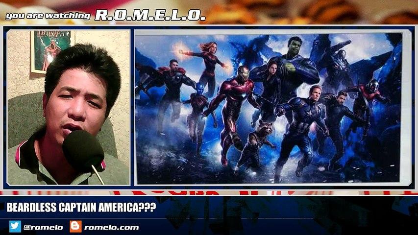 Countdown To Avengers 4 (331 Days To Go) • Beardless Captain America???