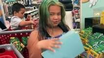 SHOPPING FOR SLIME SUPPLIES AT TARGET - BACK TO SCHOOL SHOPPING AT TARGET