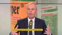 """Inscrire l'interdiction du glyphosate dans la loi : """"ça aurait été plus clair. C'est vrai que ça relève du bon sens pour beaucoup de Français"""", explique François de Rugy #8h30politique"""
