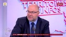 PAC : la baisse des aides est « inacceptable » selon Stéphane Travert