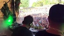 Cuttin' Headz at Brunch -In the Park Madrid was mad! Chris Martinez on the congas!! The Martinez Brothers x Dan Ghenacia x @jessee calloso