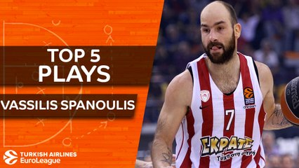 Top 5 plays, Spanoulis, All-EuroLeague Second Team