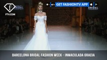 Inmaculada Garcia Personalized Dresses at Barcelona Bridal Fashion Week Part 2 | FashionTV | FTV