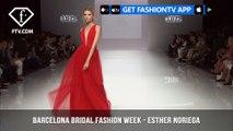 Esther Noriega Sunset Sanger Collection Barcelona Bridal Fashion Week Part 2| FashionTV | FTV
