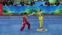 Duel impressionnant au wushu entre deux femmes