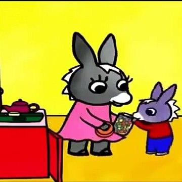 Trotro dessin animé francais Mange seulement des bonbons - Trotro