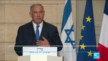 "Netanyahu in Paris: ""Iran lied to the world about its nuclear weapons programme"""