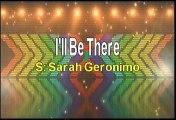 Sarah Geronimo I'll Be There Karaoke Version