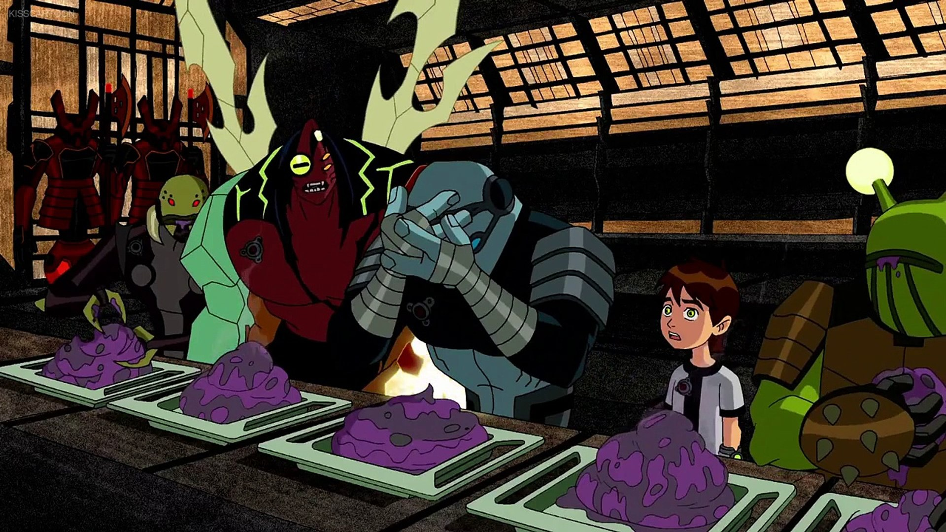 Ben 10 Season 2 Episode 5 Grudge Match