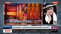"""Miss USA - Geneviève de Fontenay : """"Les défilés en deux pièces, c'est de l'exhibition !"""""""