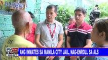 Ilang inmates sa Manila City Jail, nag-enroll sa ALS