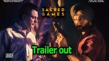 Sacred Games Trailer   Saif & Nawaz' Dangerous game begins