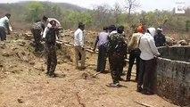 Sauvetage périlleux d'un léopard tombé dans un puits