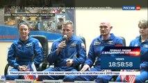 Смена состава на МКС: военный летчик, медик и вулканолог сыграют в футбол на орбите