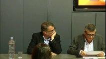 Francesc Bayarri i Vicent Partal presenten 'Matar Joan Fuster (i altres històries)' a l'Espai VilaWeb