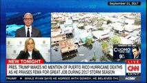 President Donald Trump makes no mention of Puerto Rico Hurricane deaths as he praises FEMA for great job during 2017 Storm Season. #DonaldTrump #PuertoRico #FEMA