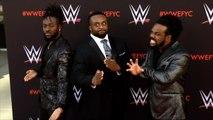 Kofi Kingston, Big E, Xavier Woods WWE's First-Ever Emmy FYC Event Red Carpet