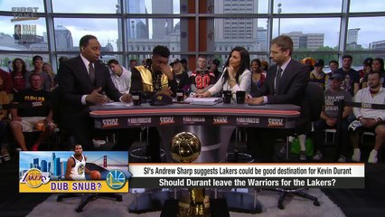 Stephen A.: Warriors fans envision 'LeBron James, Kevin Durant, Steph Curry'   First Take   ESPN