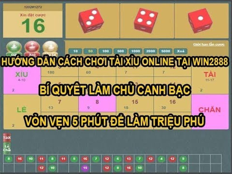 Hướng Dẫn Cách Chơi Tài Xỉu Online Tại Win2888 - Chơi Trực Tiếp Với Người Đẹp