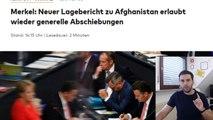 عاجل ميركل و بداية ترحيل اللاجئين الأفغان و برلماني حزب البديل يطلب منها الإستقالة
