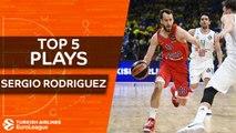 Top 5 plays, Sergio Rodriguez, All-EuroLeague Second Team