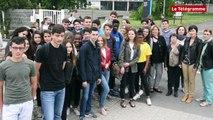Vannes. Lesage. Les lycéens restent mobilisés pour les deux jeunes Albanais