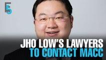 EVENING 5: Jho Low pledges assistance
