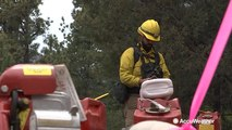 Firefighters make progress on Ute Park Fire, now 35% contained