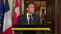 """G7 : """"Peut-être que cela est égal au président américain aujourd'hui d'être isolé, mais nous, ça nous est aussi égal d'être à six, si besoin"""", Emmanuel Macron"""