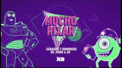 """PROMO """"MUCHO PIXAR"""" (JUNIO 2018) EN DISNEY XD"""