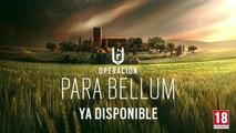 Rainbow Six Siege - Operation Para Bellum ya disponible para Rainbow Six Siege