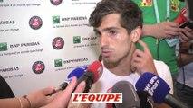 Herbert «J'espère que je ne lui ai pas pété un tympan» - Tennis - Roland-Garros