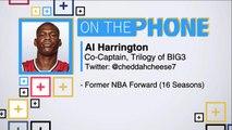Tiki and Tierney: Al Harrington talks LeBron James