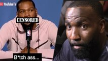 Kevin Durant CUSSES  OUT Kendrick Perkins After He CRASHES Pre-Game Presser