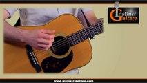 Rythmique percussive à la guitare