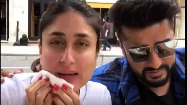 Kareena Kapoor CHILLING with Sonam Kapoor and Arjun In London; Watch Video। FilmiBeat