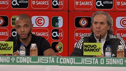 Conférence de presse Madjer après le Portugal