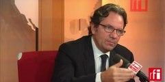 Frédéric Lefebvre, délégué national et cofondateur d'Agir, la droite constructive