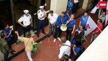 A Monaco, les salariés de Carrefour manifestent pour défendre leurs conditions de travail