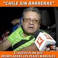 """""""Chile sin barreras"""" así se llama el nuevo plan del gobierno que reemplazará los peajes manuales por pórticos, para agilizar el flujo de los vehículos. Los au"""