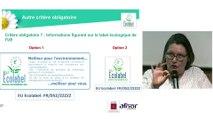 Ecolabel européen service nettoyage – Critères Autres
