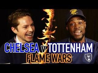CHELSEA V TOTTENHAM FLAME WARS | RORY CFC FAN TV V EXPRESSIONS | SPORF