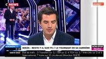 Morandini Live – Nikos Aliagas sur le départ de  TF1 : les mauvaises audiences en cause ? (vidéo)