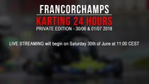 24H Private Karting Spa-Francorchamps 2018 [LIVE]